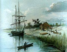 The Enterprize in the Yarra, 1835 | Ergo