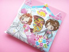 ♥B-day gift from Greivin♥ Pool Cool Kawaii Cute Sticker Flakes Sack Lovely Wedding