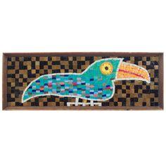 Evelyn Ackerman ERA Mosaic Toucan 1950's