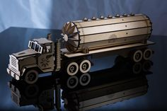 Truck and Trailers Combo – Laser Cut Plans