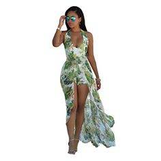 Wicky LS Womens Christmas Printed Series Maxi Floor Dress