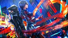 Kaneki Ken Kirishima Touka Ghoul Anime Swordsouls 1366×768