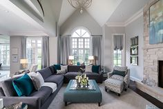 Kylemore Communities Peyton Model Home | Jane Lockhart Interior Design