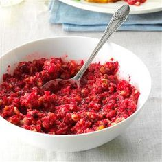 Grandma's Cranberry Stuff Recipe -What could taste better than turkey and cranberry on Thanksgiving Day? My grandmother's classic recipe makes the best cranberry stuffing to share with your family and friends this holiday. —Catherine Cassidy, Milwaukee, Wisconsin