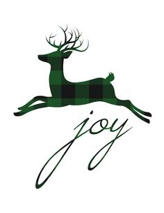 large-buffalo-plaid-green-reindeer-joy-printable