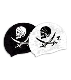 TYR Pirates Silicone Swim Cap at SwimOutlet.com