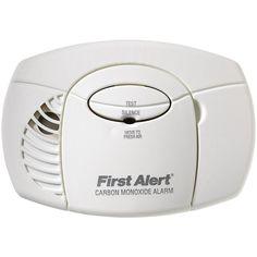 first alert carbon monoxide alarm no digital display - First Alert Smoke Detectors