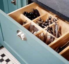 Kitchen organization tips to consider with renovations.
