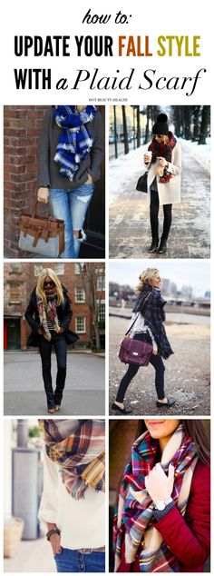 Update your fall fashion style with a plaid scarf to stay warm during the cold months. From blanket and tartan to Infiniti and buffalo, see our favorite scarf picks! Hot Beauty Health blog