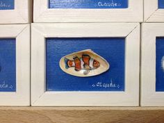painting on shell - peinture sur coquillage , Claude Jaffret