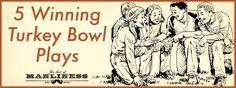 5 Winning Turkey Bowl Plays  #sponsored #winterjack