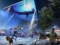 Blue Pier Concept
