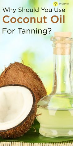 While its benefits for the scalp and hair are undeniable, you can also use coconut oil for tanning, avoiding the harm caused by the UV rays