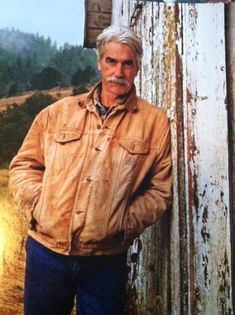 Aging gracefully...well done, Sam Elliot.        ~Oh yeah, he's definitely one of my favorite cowboys! I especially love his Louis L'Amoure based movies. What a huink!