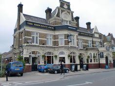 Brockley Jack pub on Brockley Road, Crofton Park