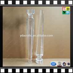 2016 New Design Lucite/ Plexiglass /Acrylic Furniture Leg, Clear Acrylic  Legs For Furniture