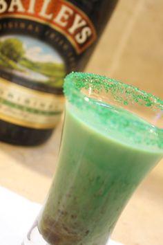 Shamrock Shooter - green shots for Saint Patricks Day