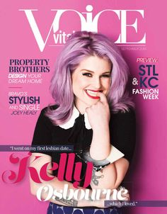 The Vital Voice Magazine September 2014  The Design Issue - Kelly Osbourne - Vital VOICE Magazine