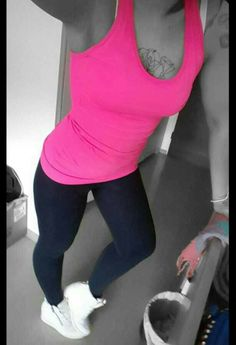 #fitness #pink #love ♡