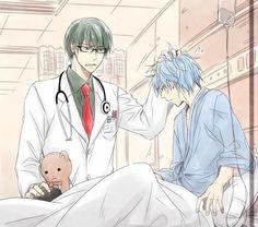 Kuroko no basket /galisawa Anime Demon, Anime Manga, Anime Guys, Anime Art, Kuroko No Basket, Basket Drawing, Desenhos Love, Midorima Shintarou, Akakuro