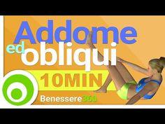 Allenamento Addominali 10 Minuti - Esecizi per Addome ed Obliqui a Casa - YouTube