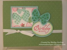 Miss Mad Stamper: Stampin' Up!: Flight of the Butterfly