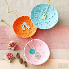DIY Clay Dishes