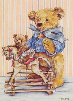 Meadow Cottage Bears ~ Christine Haworth