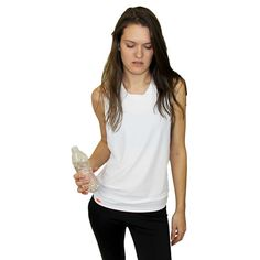 Kor's Unisex Muscle Tee means you never, ever feel like you're not free. the mesh fabric dances against your skin to the rhythm of your body. Made in New York.