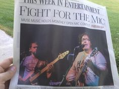 Stonecutter band makes it into the newspaper!