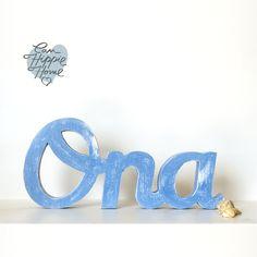 Nombres de madera 3 letras – 3cm grosor | Can Hippie Home