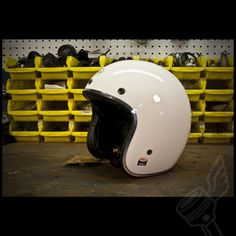 """Bell """"Gloss White"""" Custom 500 Helmet"""