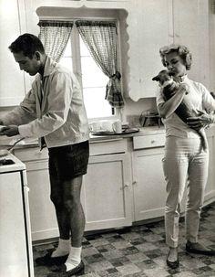 Paul, Joanne & the pup.