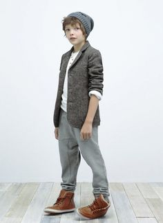 Hipster to be. Wonderful boy's combination of clothes and accessories.