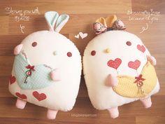 b e a n i p e t: Baby Rain & Baby Sun Hearts titchy cute kawaii bunny rabbit plushies aahhhh