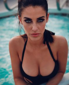 Jessica Lowndes - wearing a swimsuit in a Twitpic 04/03/16