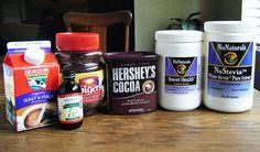 "Healthy Homemade ""Frappucino"" Frozen Coffee Drink"