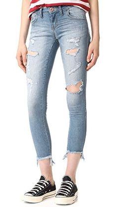One Teaspoon Women's Freebird II Skinny Jeans, Club Blue, ...