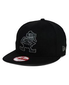 New Era Cleveland Browns Black Gray 9FIFTY Snapback Cap