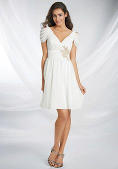 Alfred Angelo princess gown with a-line silhouette, shirred waistband, and embroidery I Style: 532 I https://www.theknot.com/fashion/532-disney-royal-maidens-by-alfred-angelo-bridesmaid-dress?utm_source=pinterest.com&utm_medium=social&utm_content=june2016&utm_campaign=beauty-fashion&utm_simplereach=?sr_share=pinterest