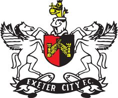 Exeter City Football Club: Official website of the Grecians English Football Teams, British Football, Exeter City, Bristol Rovers, Football Team Logos, England Football, Premier League, Badge, Soccer