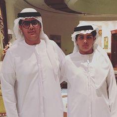Sultan y Khalid bin Maktoum bin Rashid al Maktoum, 12/09/2016.  Vía: khalidbinmaktoum