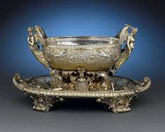 Antique Paul Storr Silver-gilt Centerpiece