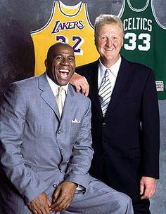 Magic Johnson & Larry Bird                                                                                                                                                     More