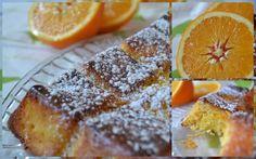 Gâteau à l'orange entière (sans farine)