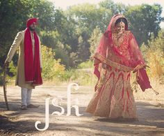 Indian wedding portrait session