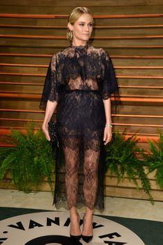 Diane Kruger- Valentino- Vanity Fair Oscar's Party 2014