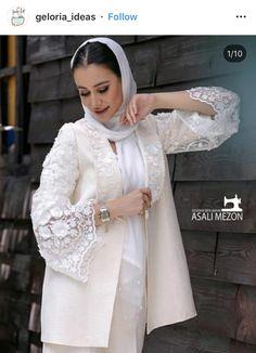 Modern Hijab Fashion, Workwear Fashion, Abaya Fashion, Muslim Fashion, Fashion Dresses, Lace Dress Styles, Sleeves Designs For Dresses, Stylish Dress Designs, Stylish Dresses