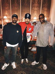 629c3dea3416 Kanye is wearing a Yeezy Season Hat