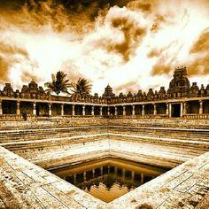 ANCIENT WATER TANK-Bhoga#nandeeshwara